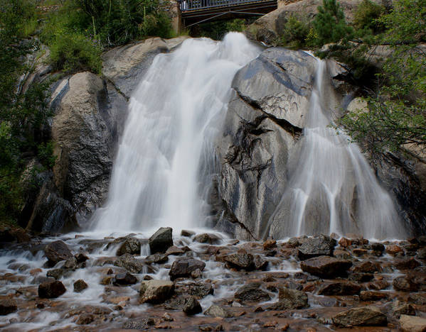 Colorado Art Print featuring the photograph Helen Hunt Falls by Ernie Echols