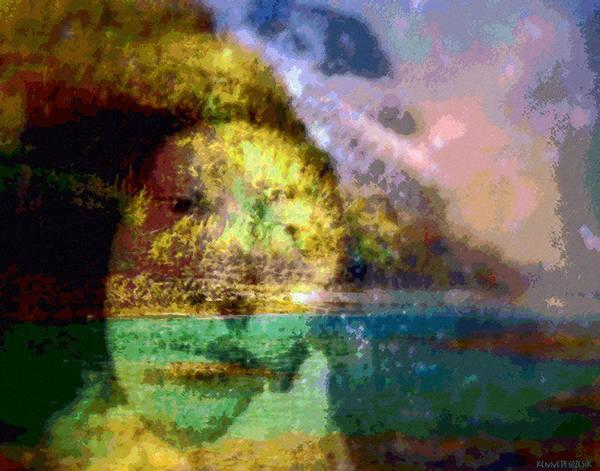 Tropical Interior Design Art Print featuring the photograph I Ini O Ka Naau by Kenneth Grzesik