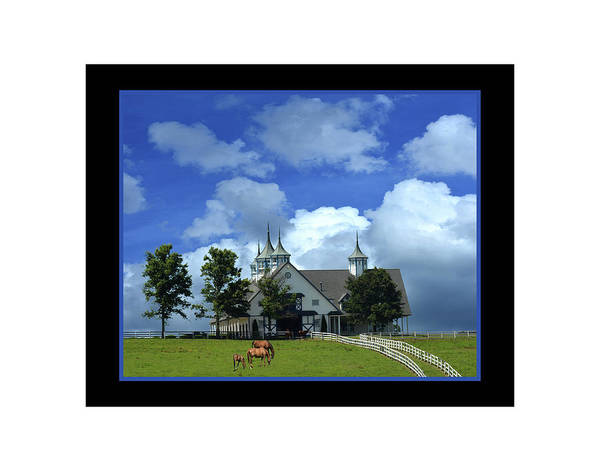 Manchester Art Print featuring the photograph Manchester Barn by Bob Welch