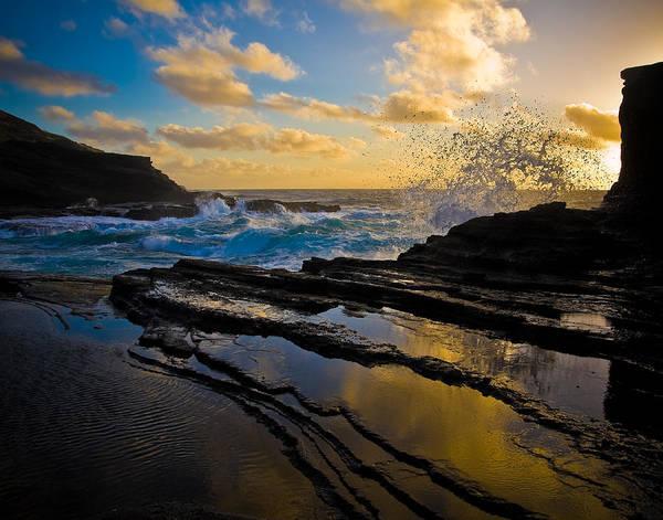 Hawaii Art Print featuring the photograph Morning On Oahu Hawaii by Jon Woodbury