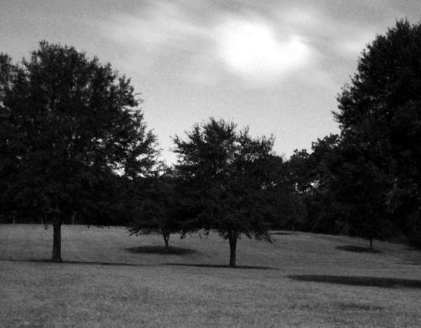Landscape Art Print featuring the photograph Nine Thirty At Night Where My Heart Is by Heather S Huston