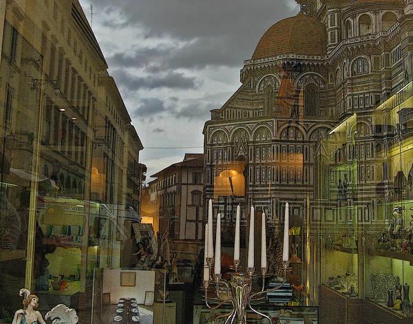 Italy Art Print featuring the photograph Piazza Del Duomo by Sonia Melnikova-Raich