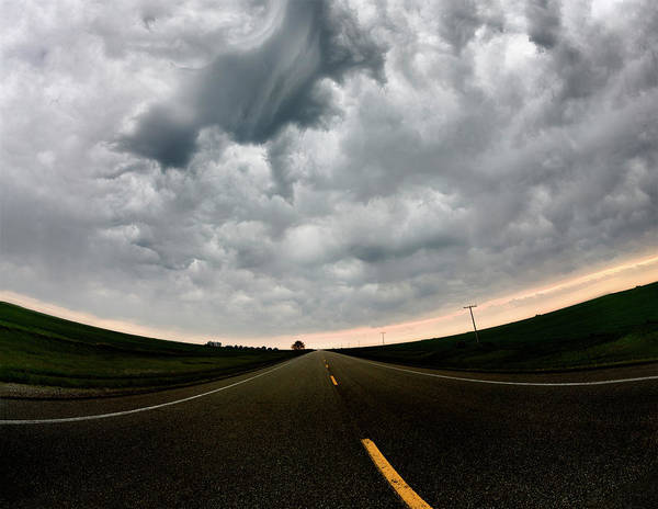 Storm Art Print featuring the photograph Prairie Storm by Mark Duffy