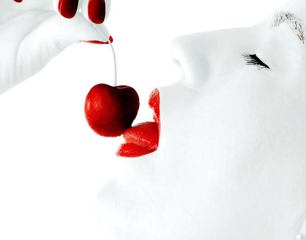 Sharon Art Print featuring the photograph Sharon's Cherry by Ray Akey
