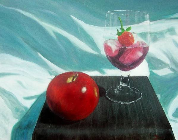 Still Life Art Print featuring the painting Still Life by Tony Rodriguez