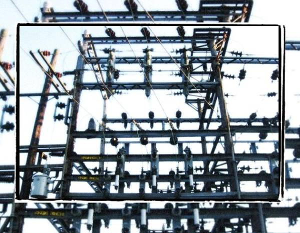 Art Print featuring the photograph Substation by J Son