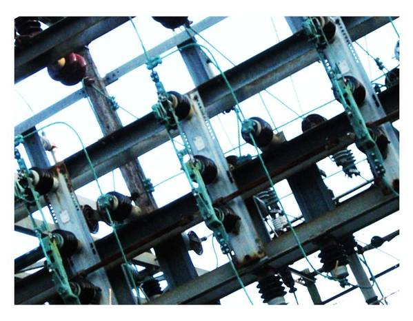 Art Print featuring the photograph Substation Skrap 1 by J Son