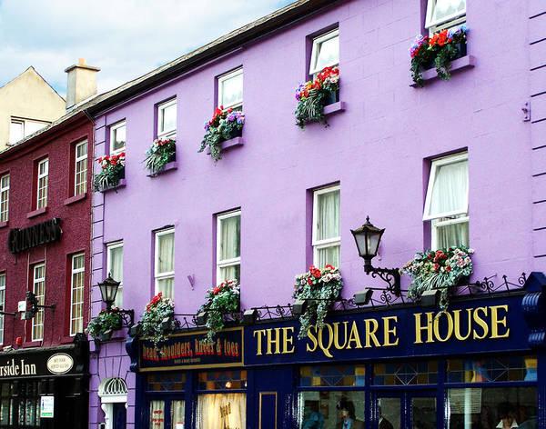Irish Art Print featuring the photograph The Square House Athlone Ireland by Teresa Mucha