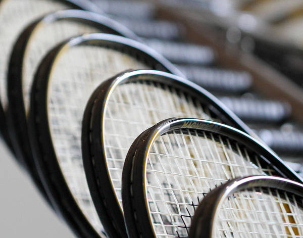 Tennis Art Print featuring the photograph What A Racquet by Wendy Fike