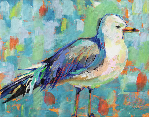 Animals Art Print featuring the painting Joe by Jeanette Vertentes