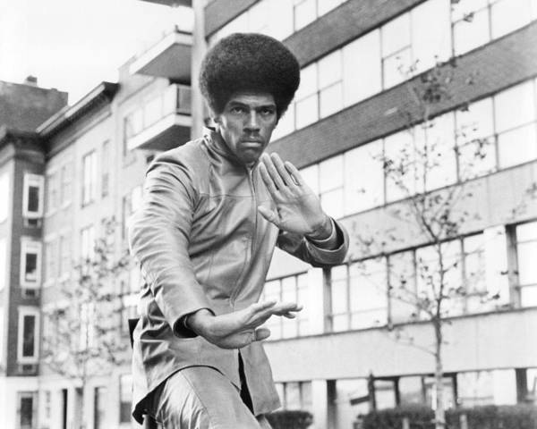 Jim Kelly Art Print featuring the photograph Jim Kelly by Silver Screen