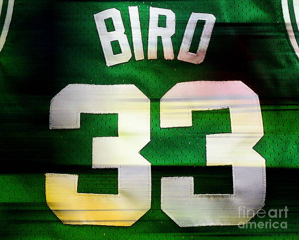Bird Paintings Art Print featuring the mixed media Larry Bird by Marvin Blaine