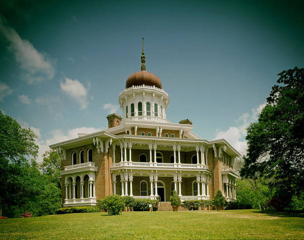 Longwood Art Print Featuring The Photograph Longwood House   Natchez By  Mountain Dreams