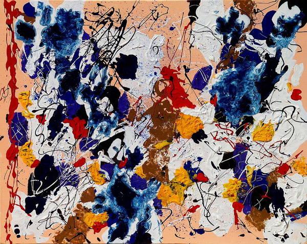 Paintings Paintings Paintings Art Print featuring the painting Jaco's Blues by Wayne Salvatore