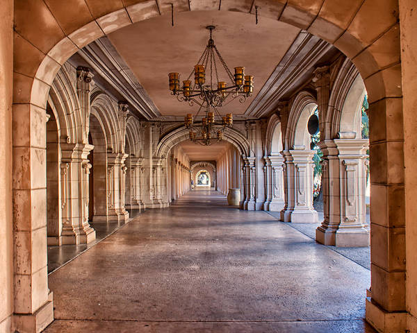 Architecture Art Print featuring the photograph Balboa Park Arches by Lauri Novak