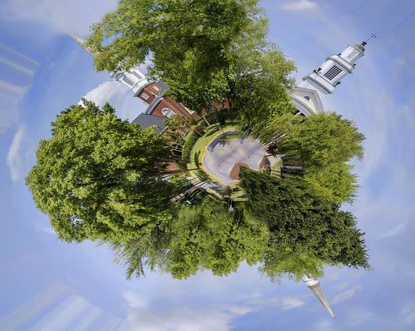 Church Circle Art Print featuring the photograph Church Circle by Heather Applegate