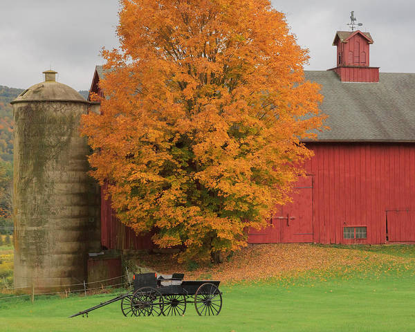 Bucolic Art Print featuring the photograph Country Wagon by Bill Wakeley