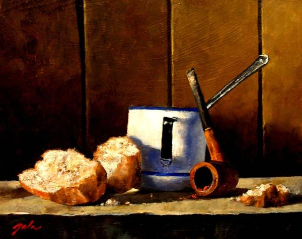 Still Life Art Print featuring the painting Daily Bread Ver 1 by Jim Gola