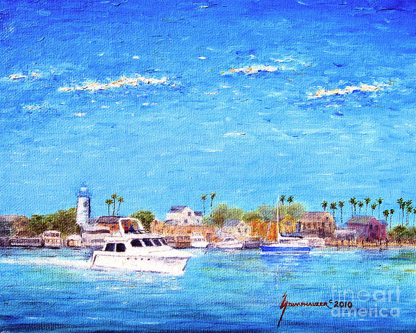Boat Art Print featuring the painting Fisherman's Village by Jerome Stumphauzer