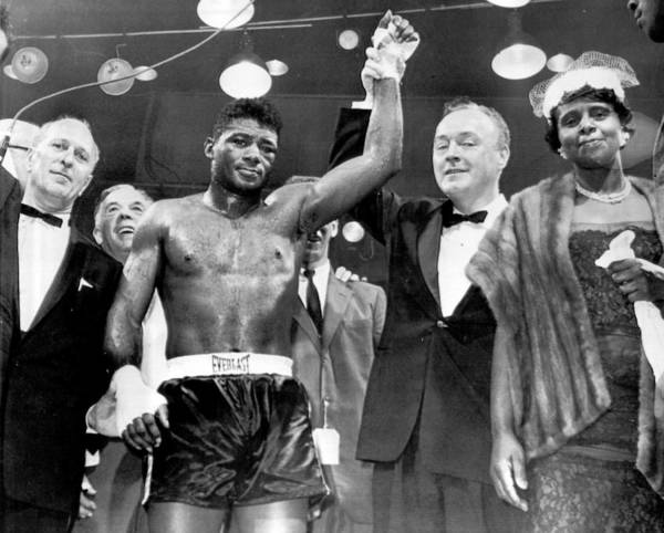 Retro Images Archive Art Print featuring the photograph Floyd Patterson After Win by Retro Images Archive