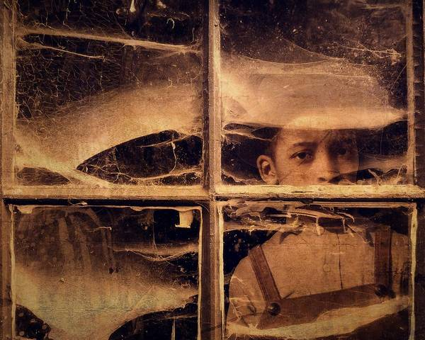 Windows Art Print featuring the photograph Forgotten 1 by Timothy Bulone