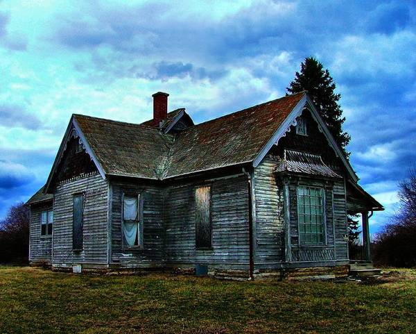 Old Abandoned Art Print featuring the photograph Glory Days Gone By by Julie Dant