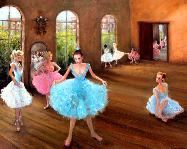 Hall Of Dance Art Print featuring the painting Hall Of Dance by Graham Keith