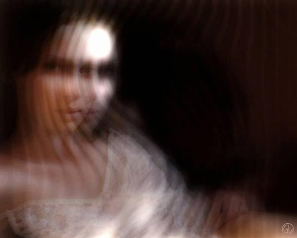 Woman Art Print featuring the digital art Illusion by Gun Legler
