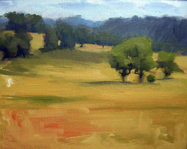 Leiper's Fork Art Print featuring the painting Leiper's Fork I by Erin Rickelton