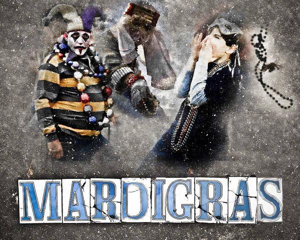 mardi Gras Art Print featuring the photograph Mardi Gras Artwork by Ray Devlin