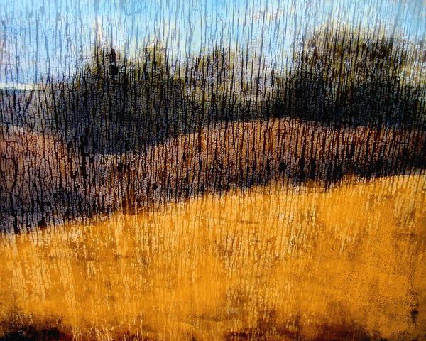 Landscape Art Print featuring the photograph Oklahoma Prairie Landscape by Ann Powell