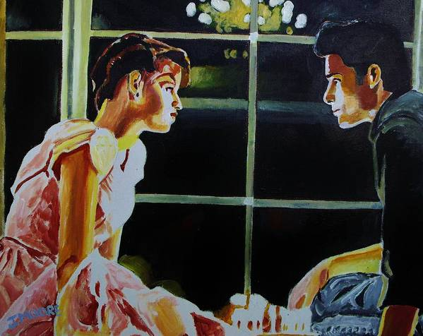 16 Art Print featuring the painting Sixteen Candles by Jeremy Moore