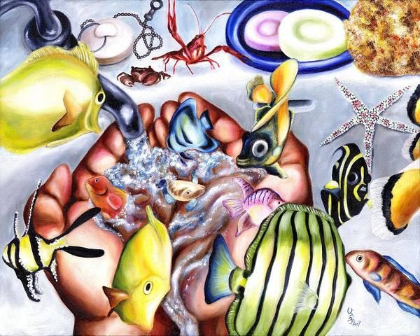 Dream Art Print featuring the painting Still Drunk by Hiroko Sakai