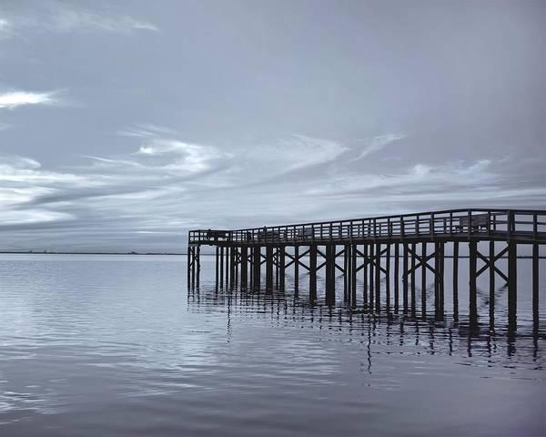 Pier Art Print featuring the photograph The Pier by Kim Hojnacki