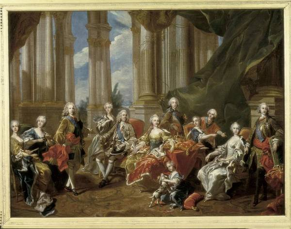 Horizontal Art Print featuring the photograph Van Loo, Louis Michel 1707-1771. Philip by Everett