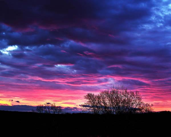 Tim Buisman Art Print featuring the photograph Vibrant Sunrise by Tim Buisman