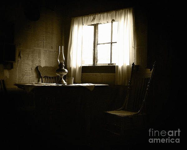 Room Art Print featuring the photograph Waiting For Company by Lincoln Rogers