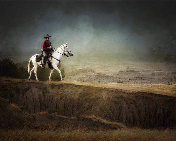 Landscape Art Print featuring the photograph Westward by Ron McGinnis
