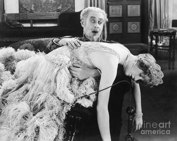 -fainting- Art Print featuring the photograph Duchess Of Buffalo, 1926 by Granger