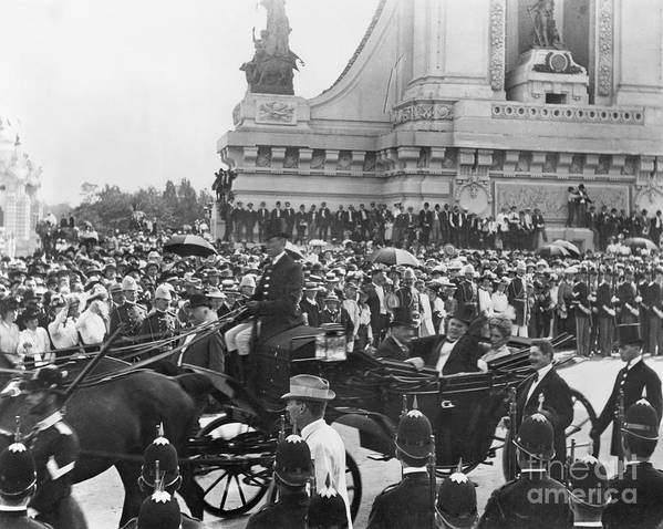 1901 Art Print featuring the photograph Pan-american Expo, 1901 by Granger