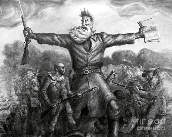 History Art Print featuring the photograph John Brown, American Abolitionist by Photo Researchers