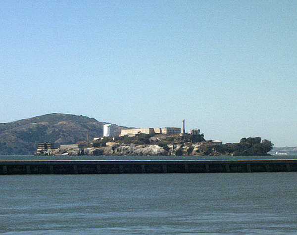 Water Art Print featuring the photograph Alcatraz Island by Vanessa Beck