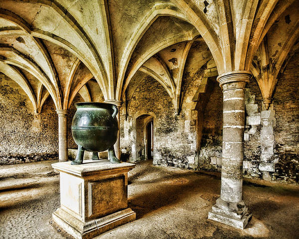 Lacock Abbey Art Print featuring the photograph Double Double Toil And Trouble by Wendy White