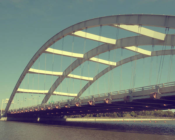 Bridge Art Print featuring the photograph Freddie Sue Bridge by Kristen Cavanaugh