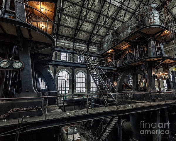 Steampunk Art Print featuring the photograph Wheels Of Industry by Phil Pantano