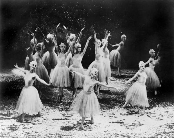 History Art Print featuring the photograph New York City Ballet Performing The by Everett