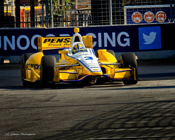 Izodindy Art Print featuring the photograph Penske by Glenn Thompson