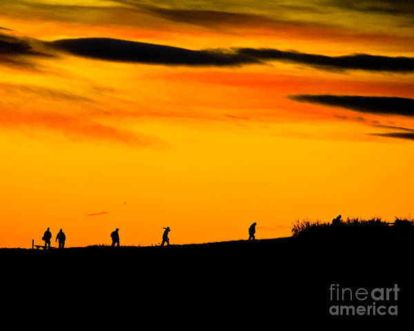 Larimer County Art Print featuring the photograph Photo Club Sunrise by Harry Strharsky