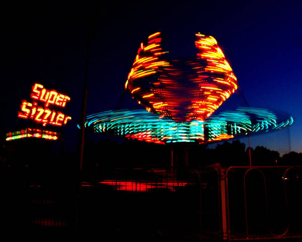 Light Art Print featuring the photograph Sizzler by Jessica Duede