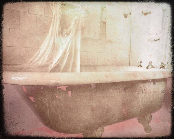 Bathtub Art Print featuring the photograph Victorian Bath by Sharon Kalstek-Coty